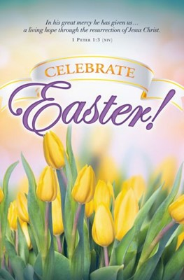 Celebrate Easter! Bulletin (Pack of 100)