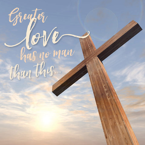 Easter Cards: Greater Love (5 Pack)