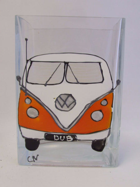 vw campervan vase
