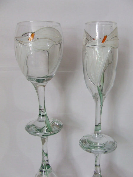 Cala Lily glasses