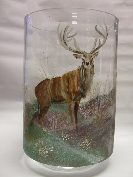 Stag hurricane lamp
