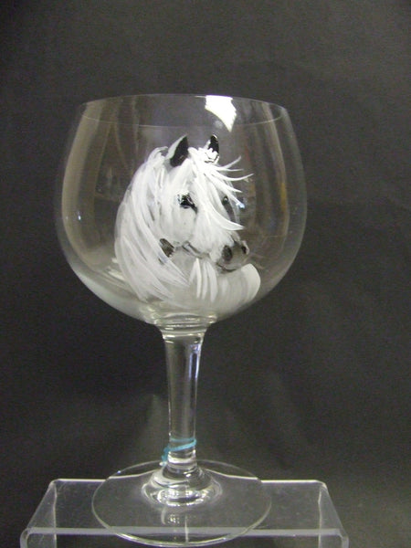 white horse glass
