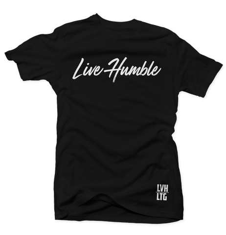 Live Humble T-Shirt (Black)