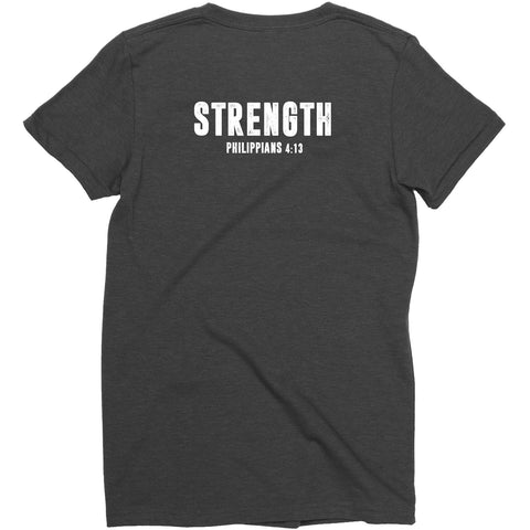 Women's Black LTG Strength Tee