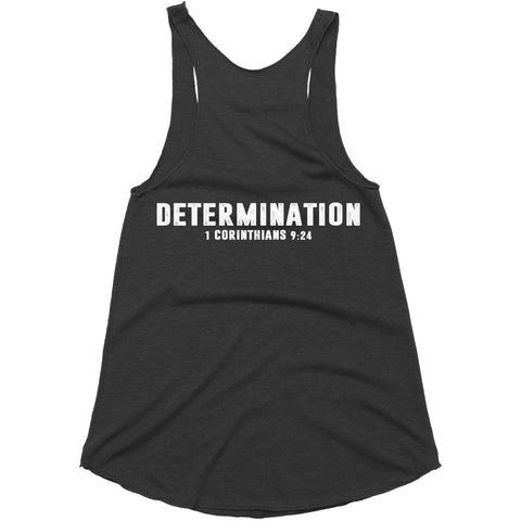 Women's Black LTG Dertermination Tank