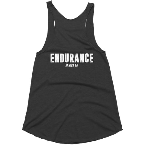 Women's Black LTG Endurance Tank