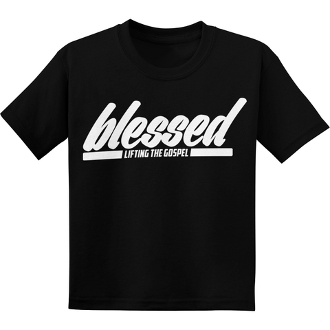 Youth Boy's Black Blessed Tee