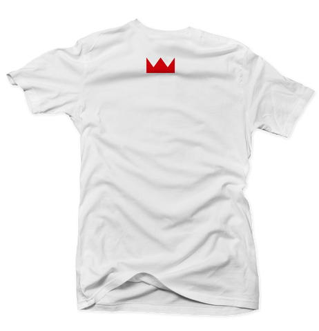 GOD IS IN MY DNA T-Shirt (White/Red)