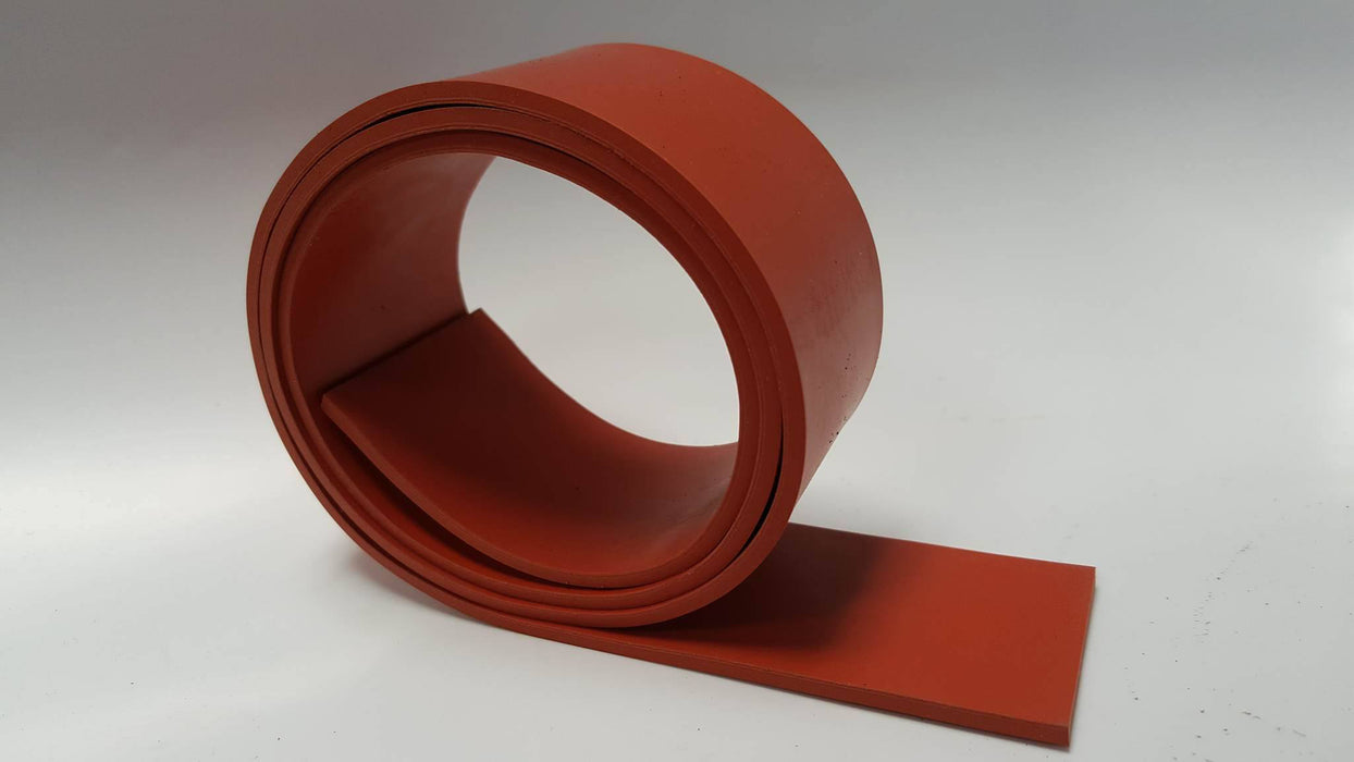 Silicone Rubber Strips 60A Medium Hardness