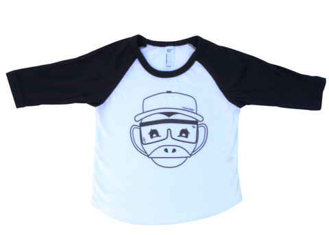 Kids TShirt Monkey Raglan