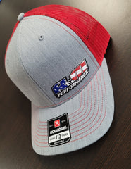 Red American Hat