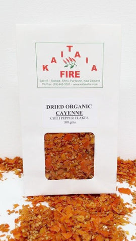 Chili Flakes - Dried Cayenne 100g