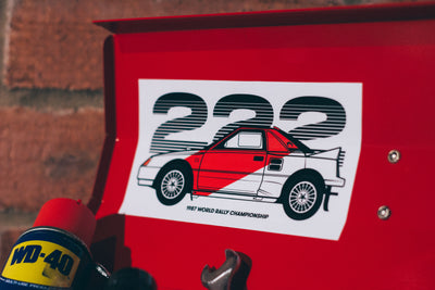 Toyota MR2 22D Sticker