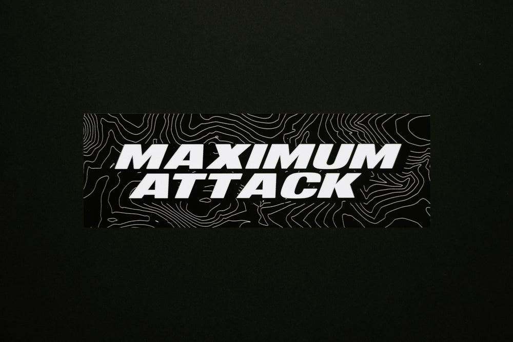 Maximum Attack sticker