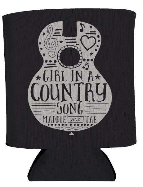 Girl In A Song Koozie