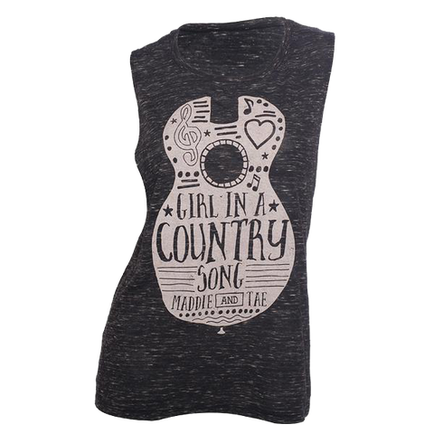 Girl In A Country Song Ladies' Tank