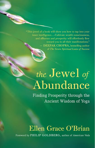 The Jewel of Abundance: Finding Prosperity Through the Ancient Wisdom of Yoga book available from frequencyRiser
