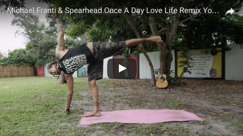 "Michael Franti ""Once a Day"" Yoga Jam"