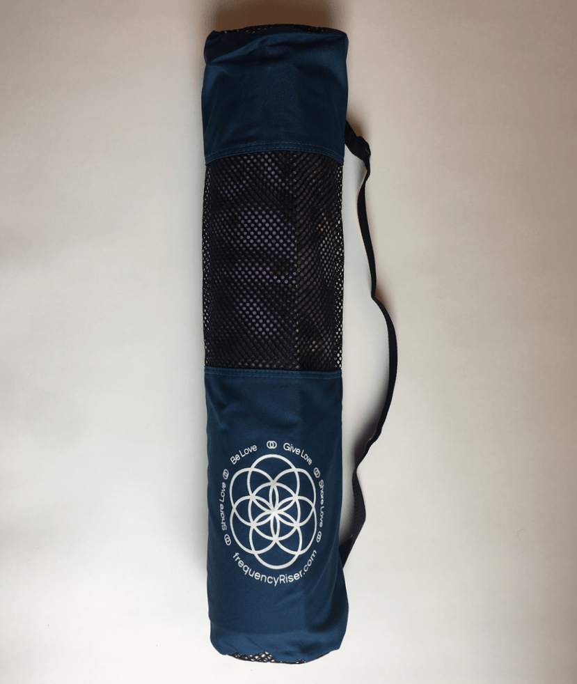 c23dee18a9ca ... frequencyRiser Seed of Life Yoga Mat Bag (available in Black