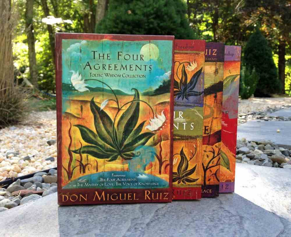 The Four Agreements Toltec Wisdom Collection 3 Book Set