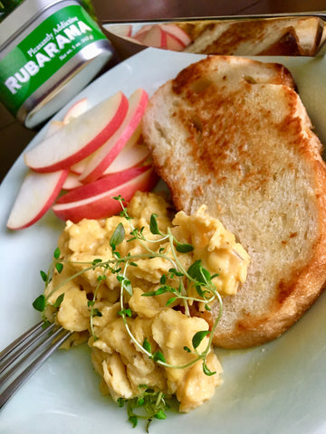 Rubarama's Creamy and Savory Scrambled Eggs