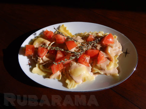 Rubarama's Spicy Parmesan & Goat Cheese Sauce