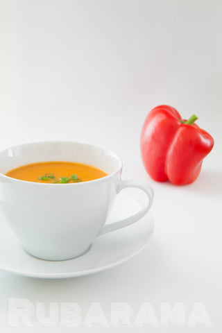 Rubarama's Roasted Red Pepper Soup