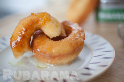 Rubarama's Spiced-Up Orange Doughnuts