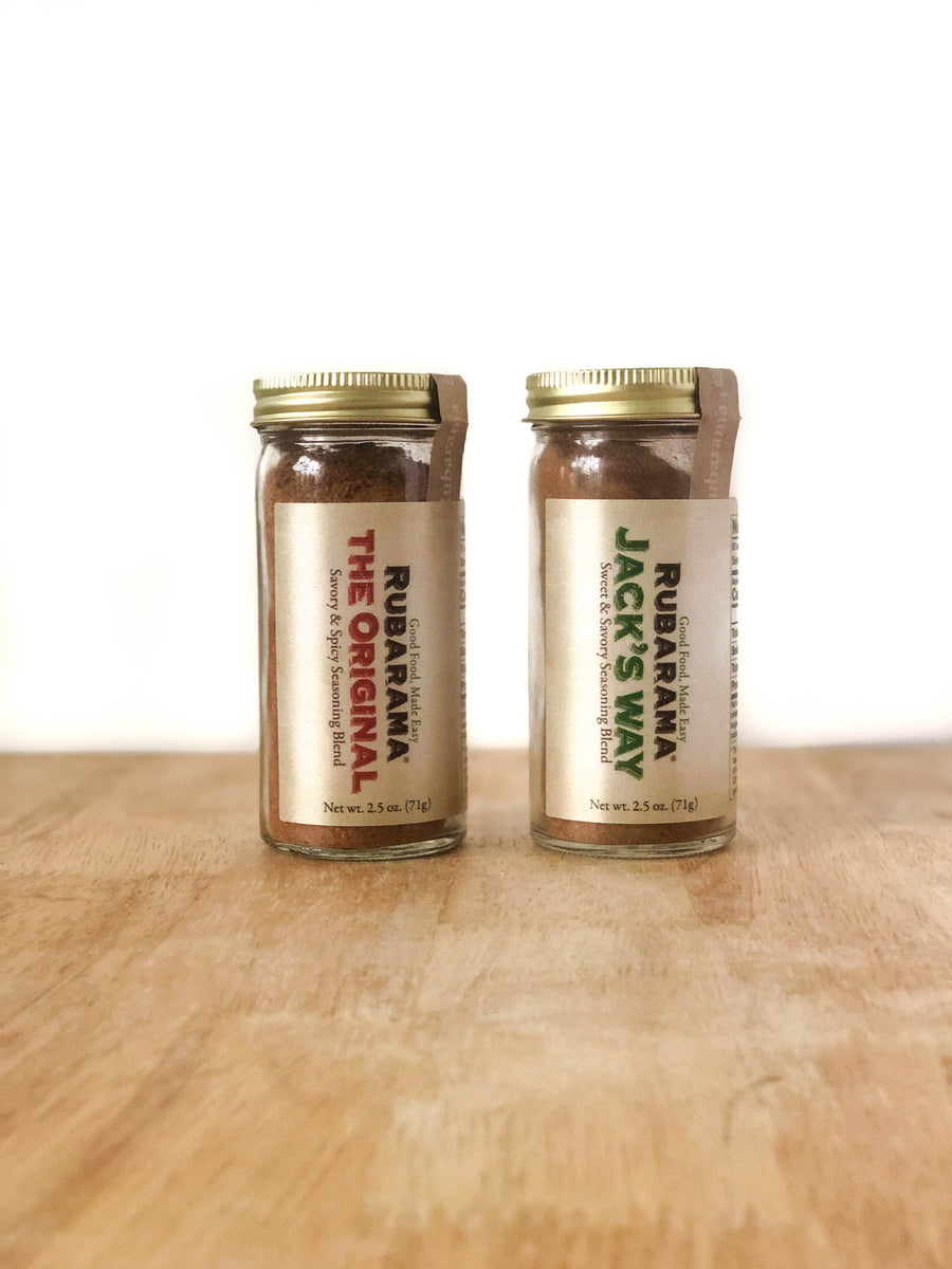 Rubarama Shaker Twin Pack