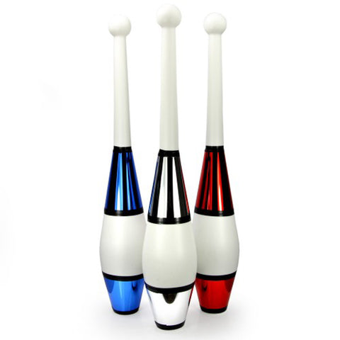 One-Piece Juggling Clubs Set of 3