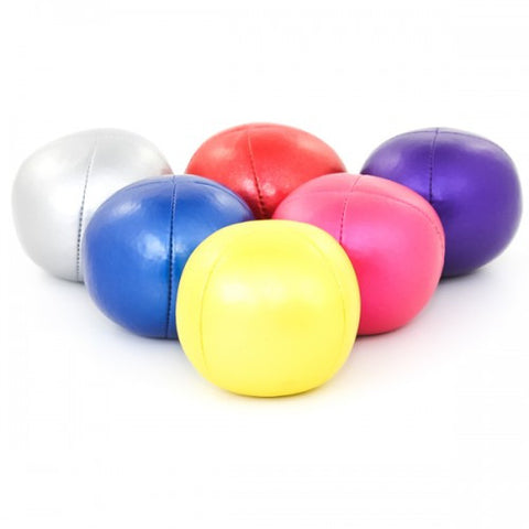 Set of 3 Professional Shiny Style Juggling Balls