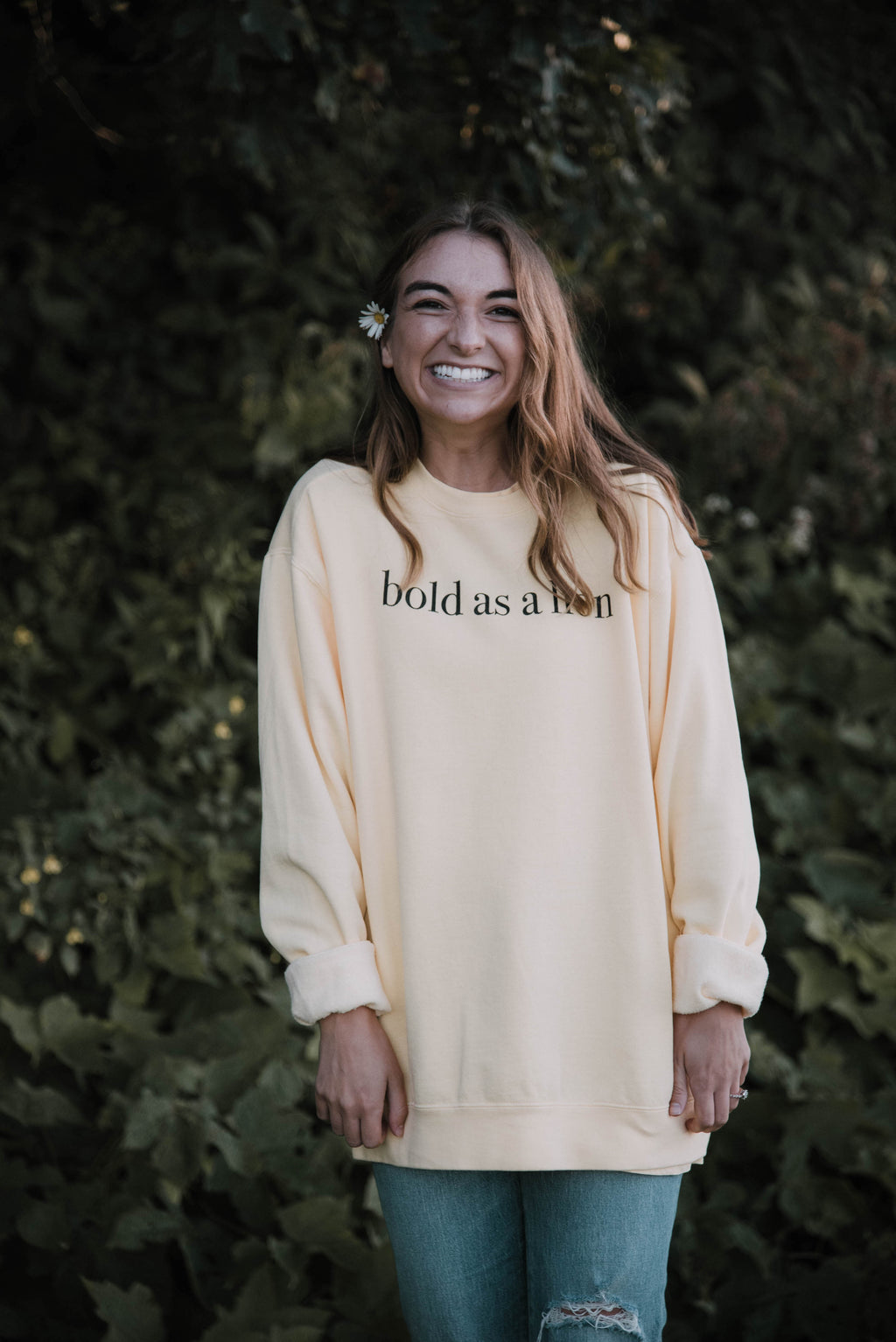 Bold As A Lion Sweatshirt