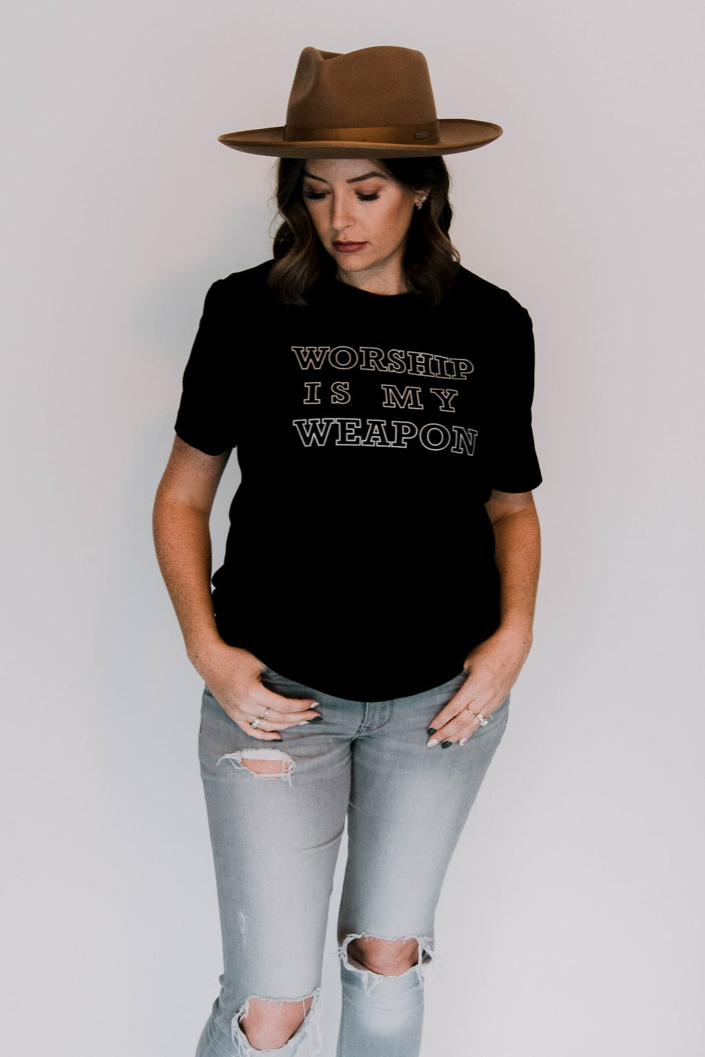 Worship Is My Weapon Tee