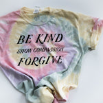 Be Kind Tie Dye Tee