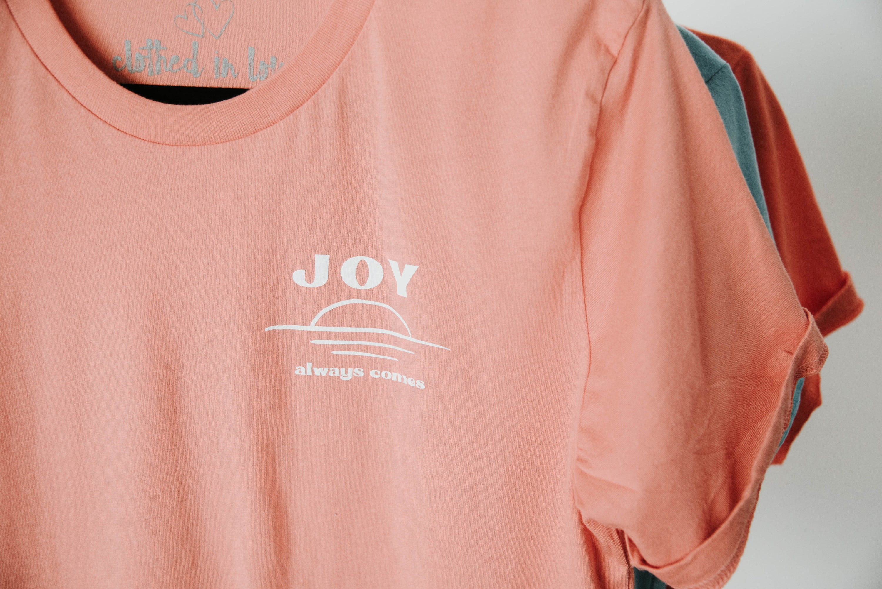 Joy Always Comes Tee