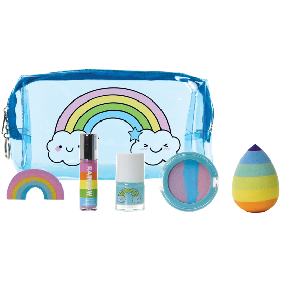 Rainbow 5 Piece Beauty Set