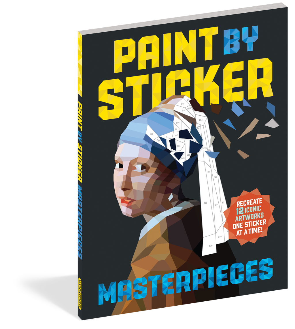 Paint By Sticker: Masterpieces