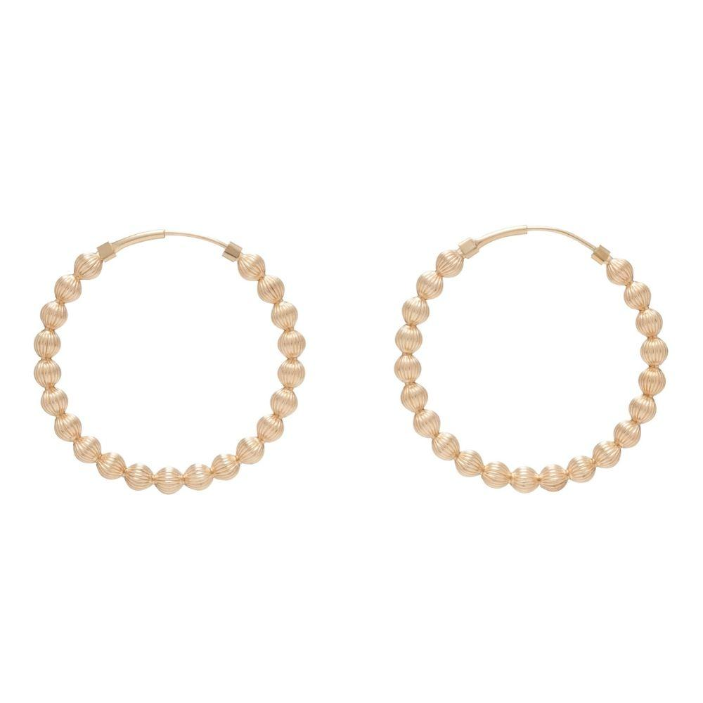 "Endless Gold 1.25"" Hoop"
