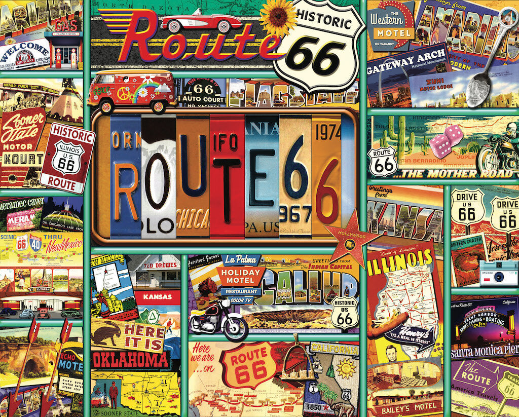 "Travel the USA ""Route 66"""