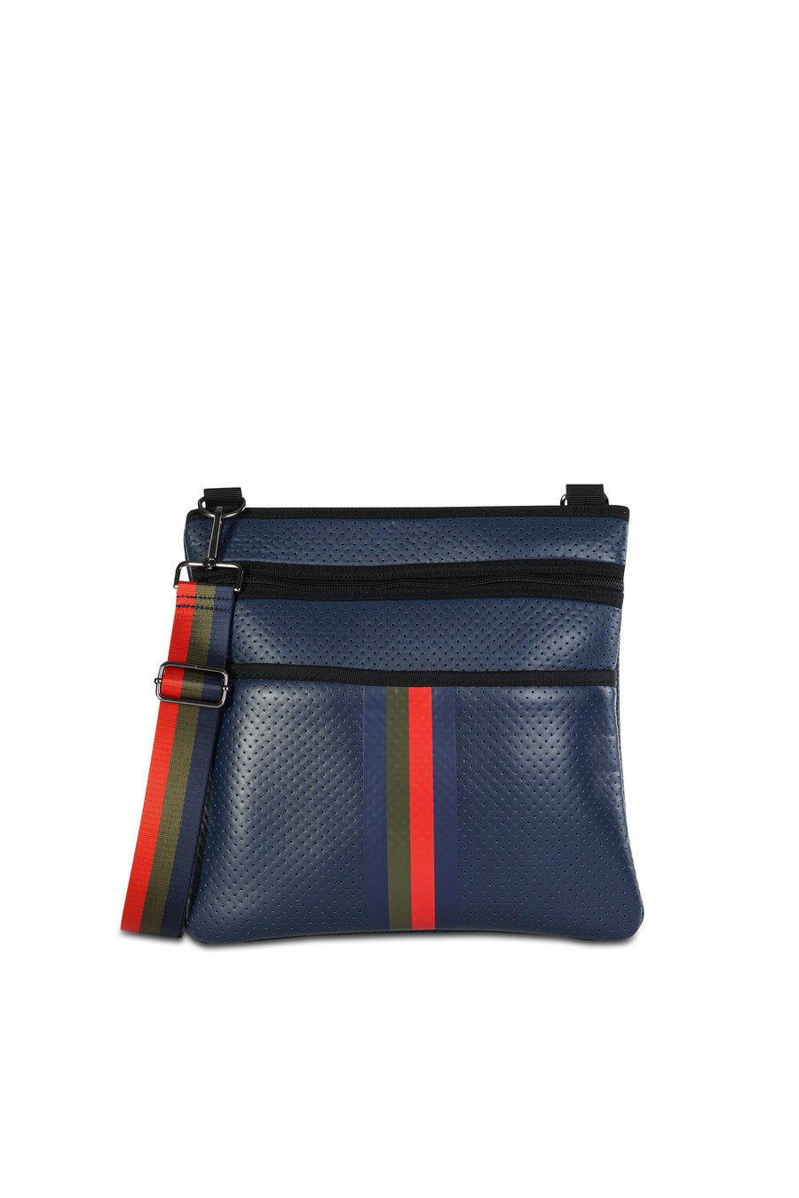 Navy Neoprene Crossbody