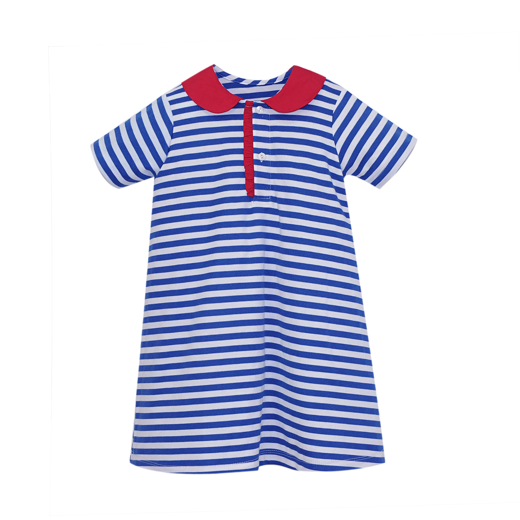 School Days Playful Polo Dress
