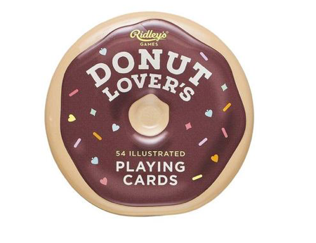 Ridley's Donut Lover Playing Cards