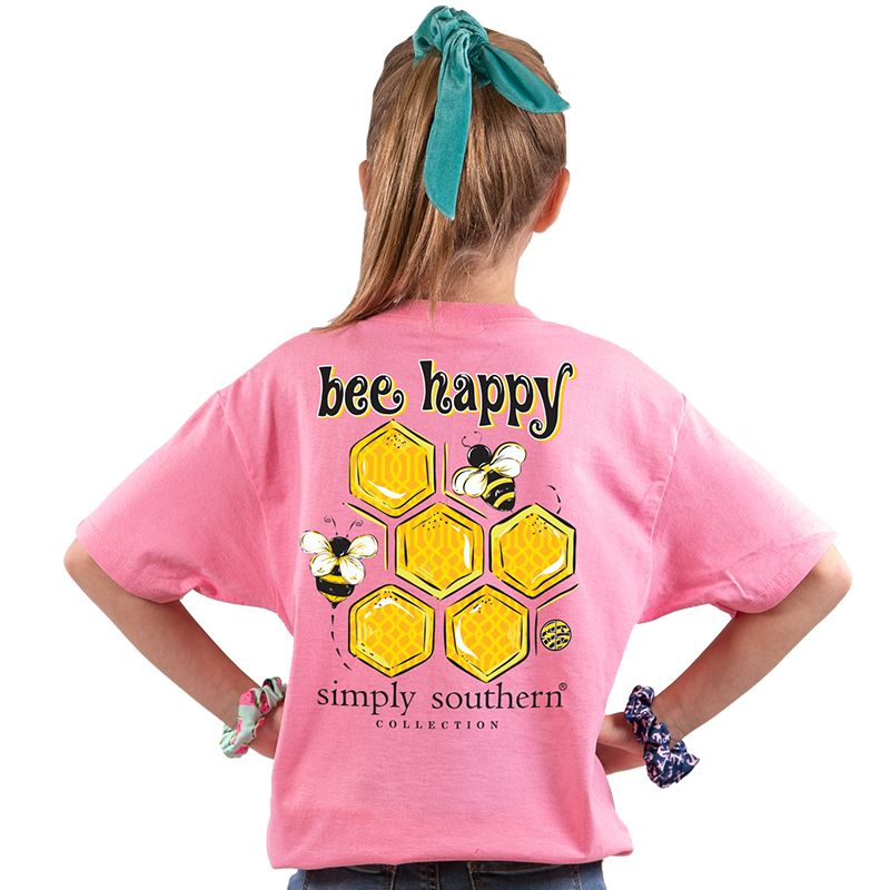 Simply Southern Bee Happy Tee