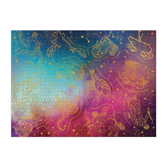 Cosmos Astrology 1000 Piece Foil Jigsaw Puzzle