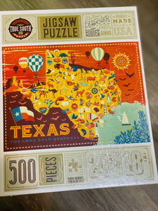 Texas 500 Piece Jigsaw Puzzle