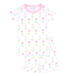 Tulips Short Pajama Set