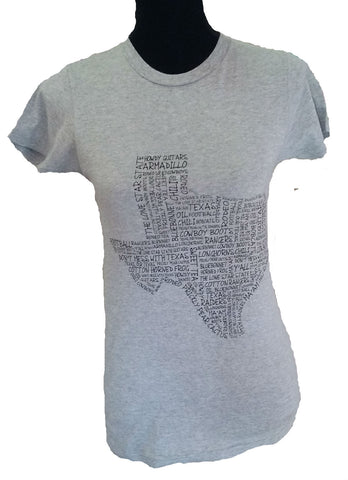 Texas Words Shirt