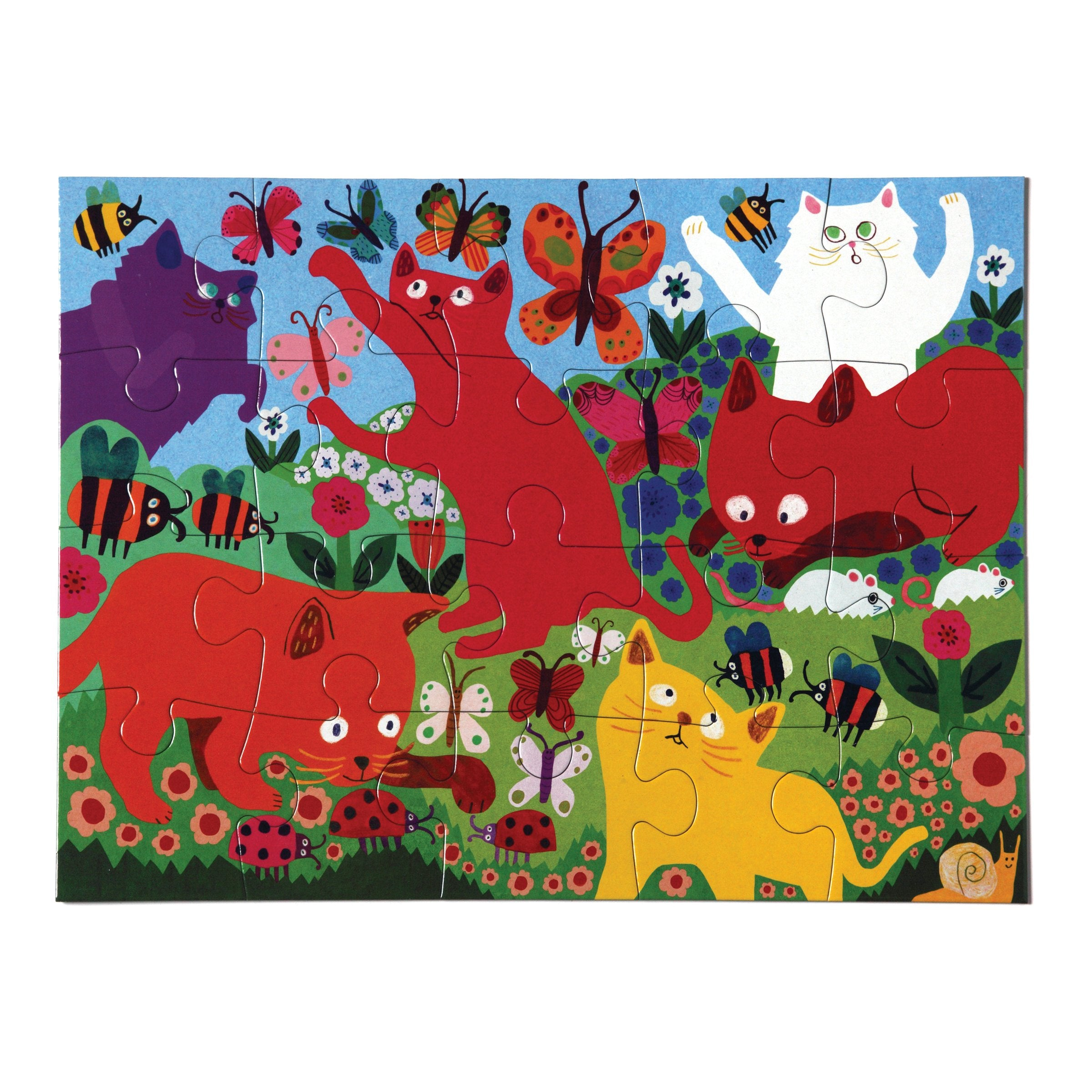Crazy Kittens 20 Piece Puzzle