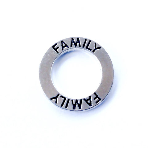 Family Circle Plate {Fits Large Round}