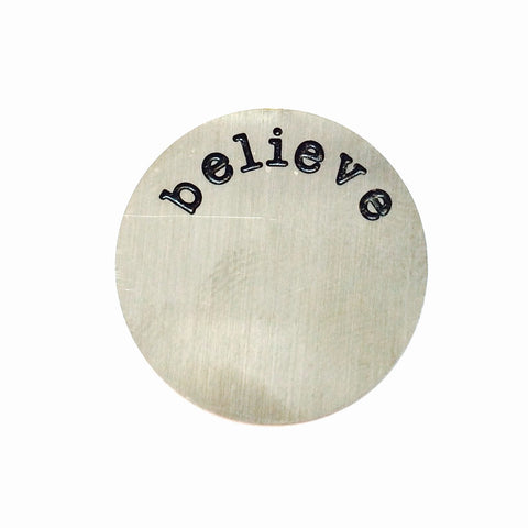 Believe Large Plate